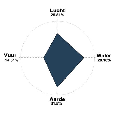 Elementenvlieger Blauwdruk Persoonlijke kracht